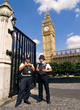 TWO POLICEMEN, LONDON - AUGUST 11 Stock Photography