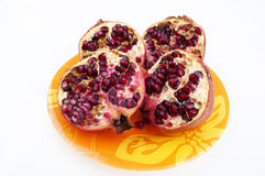 Two pomegranate Stock Photo