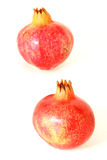 Two pomegranate Royalty Free Stock Photography