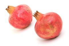 Two pomegranate horizontal Royalty Free Stock Photos