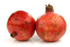 Two pomegranate(Punica granatum) Stock Photography