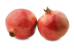 Two pomegranate & x28;Punica granatum& x29; Royalty Free Stock Photos