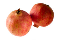 Two pomegranates Royalty Free Stock Image