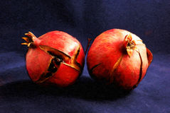 Two Pomegranates Royalty Free Stock Photo