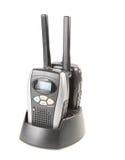 Two portable radio sets Royalty Free Stock Image
