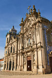 Two portuguese churches in Porto Stock Photo