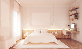 Two poster bedroom Royalty Free Stock Photos