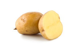Two potatoes Royalty Free Stock Photos