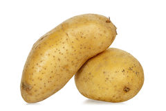Two potatoes Stock Photos