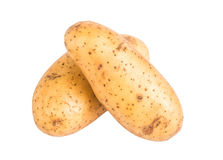 Two potatoes Stock Photo