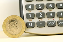 Two pound coin Stock Photos