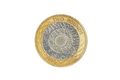 Two pound coin Stock Image