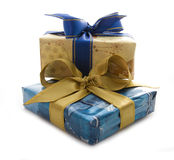 Two present Stock Image
