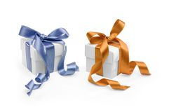 Two Presents Royalty Free Stock Photography