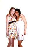 Two pretty girls. Stock Photo
