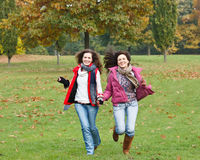 Two pretty girls having fun Stock Photo