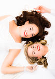 Two pretty woman Stock Photography