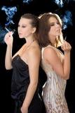 Two pretty women Stock Photography