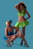 Two pretty women Stock Image