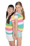 Two pretty young girls Royalty Free Stock Images