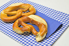 Two Pretzels Royalty Free Stock Photo