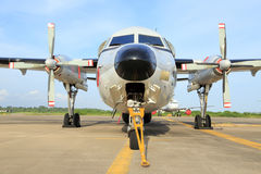 Two propeller aircraft Royalty Free Stock Photo