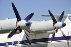 Two propellers Royalty Free Stock Photo
