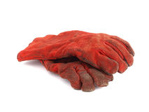 Two protection gloves Stock Images