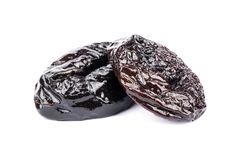 Two prunes Stock Photography