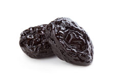 Two prunes Stock Photo
