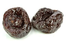 Two prunes Stock Photos