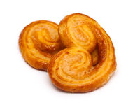 Two puff pastry Stock Photo