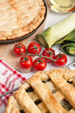 Two Puff Pastry Pies Stock Photography