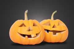 Two Pumpkin Stock Images