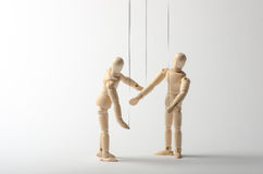 Two puppets. Stock Photography