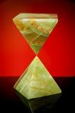 Two pyramids of ornamental stone Royalty Free Stock Photos