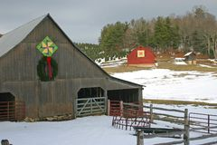 Two Quilt Barns Royalty Free Stock Photography