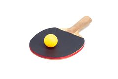 Two rackets for playing table tennis Stock Image