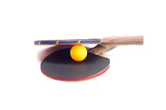 Two rackets for playing table tennis Royalty Free Stock Images