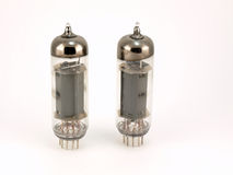 Two Radio Valves Royalty Free Stock Images