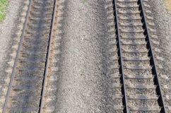 Two railroad Royalty Free Stock Photo
