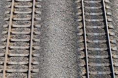 Two railroads Stock Image