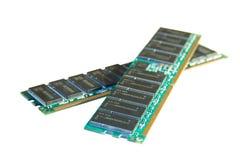 Two RAM modules Stock Image