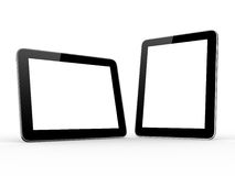 Two Realistic Tablet Computers Stock Images