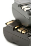Two Rechargeable Battery Royalty Free Stock Photography