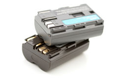 Two rechargeable battery Stock Images