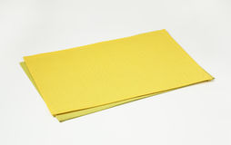 Two rectangle placemats Royalty Free Stock Photo