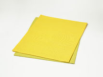Two rectangle placemats Stock Photos