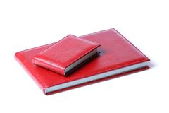 Two red books Stock Image