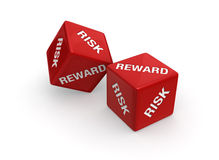 Risk Versus Reward Gamble Stock Photos